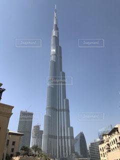ブルジュ ・ ハリファの高層タワーの写真・画像素材[992088]