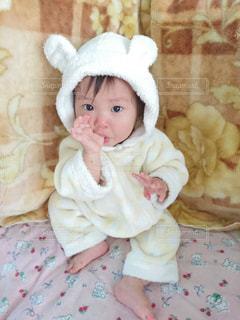 赤ちゃんの冬服の写真・画像素材[756205]