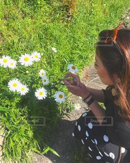 庭園の少女の写真・画像素材[1269766]