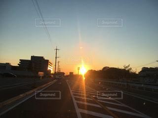 夕陽の写真・画像素材[454980]