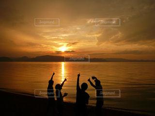 夕日の写真・画像素材[456074]