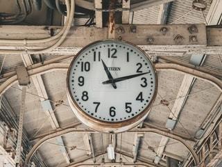 駅の時計の写真・画像素材[2694021]