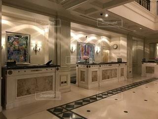 ホテルエントランスの写真・画像素材[1109714]