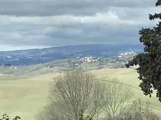 山からの風景の写真・画像素材[1110545]