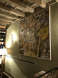 大きな壁画の写真・画像素材[1110589]