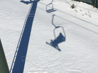 雪山の写真・画像素材[460199]