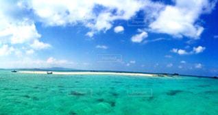 海に浮かぶ島💕の写真・画像素材[552364]