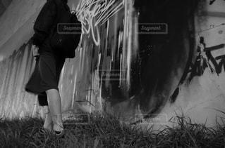モノクロの写真・画像素材[460808]