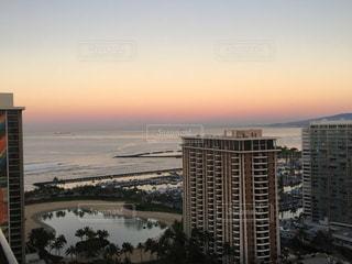 ハワイの朝焼けの写真・画像素材[1158500]