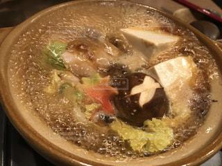 お店で食べた鍋❤️の写真・画像素材[894136]