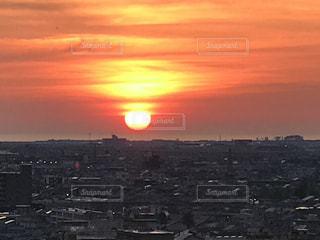 夕日の写真・画像素材[463971]