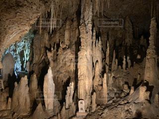 鍾乳洞の写真・画像素材[3605393]