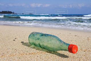 近くの砂浜のビーチの写真・画像素材[993096]