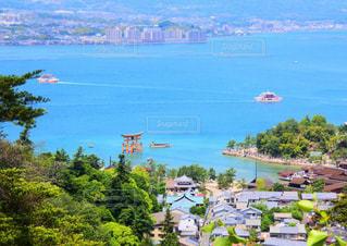 湖の眺めの写真・画像素材[1200070]