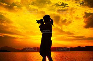 夕日の写真・画像素材[465086]