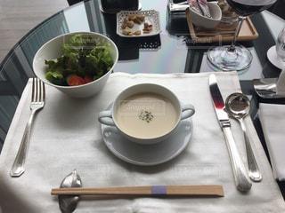 スープの写真・画像素材[465639]