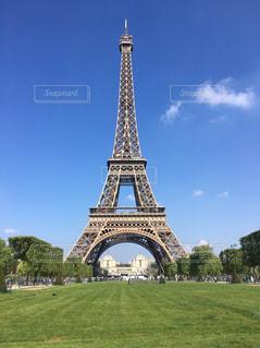 エッフェル塔の写真・画像素材[466227]
