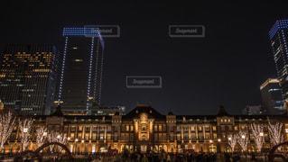 夜の街の景色の写真・画像素材[947074]