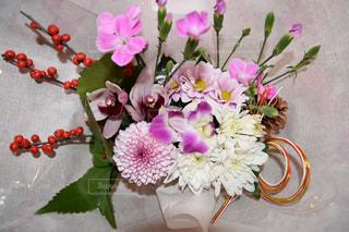 正月 花 新春 飾り めでたいの写真・画像素材[466441]