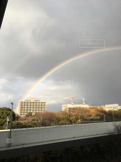虹の街の写真・画像素材[919698]