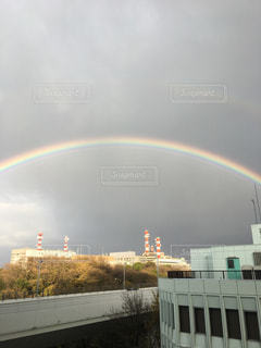 虹の街の写真・画像素材[919699]