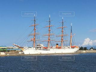 水体の大型船の写真・画像素材[1544816]