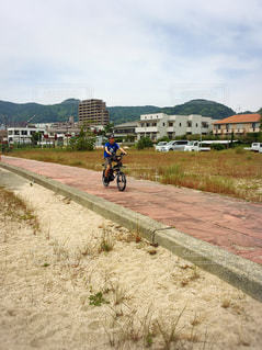 自転車の写真・画像素材[495741]