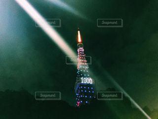 東京オリンピックまで1000日の東京タワーの写真・画像素材[850954]