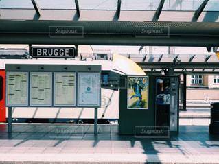 ブルージュ駅の写真・画像素材[1380028]