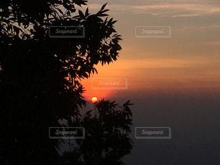 日の出の写真・画像素材[853410]