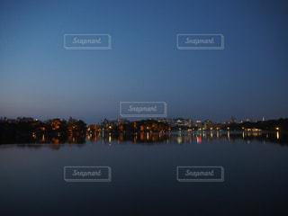 大濠公園の夕暮れの写真・画像素材[1882244]