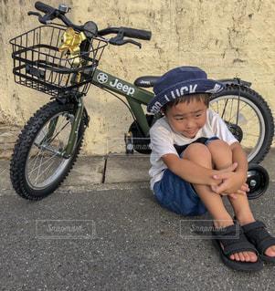 自転車デビューの写真・画像素材[1421730]
