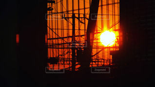 夕日の写真・画像素材[615842]