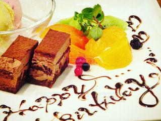 バースデーケーキの写真・画像素材[736888]