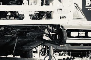 自動車エンジンの写真・画像素材[3174041]