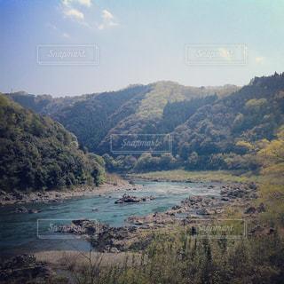 四万十川の風景の写真・画像素材[1082185]