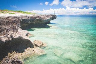 沖縄の離島、岬の写真・画像素材[1082275]