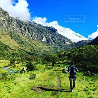 ペルーにてハイキング!!の写真・画像素材[780147]