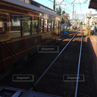 線路は続くよの写真・画像素材[1600571]