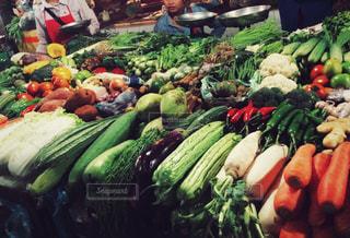カンボジア・オールドマーケットの写真・画像素材[470627]