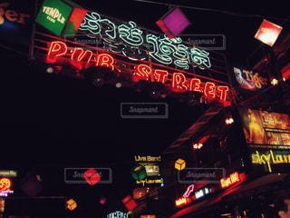 カンボジア・パブストリートの写真・画像素材[474232]
