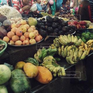カンボジア・オールドマーケットの風景の写真・画像素材[474246]