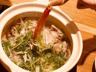 蟹しゃぶはさっとくぐらせるくらいで食べごろ!の写真・画像素材[1635303]