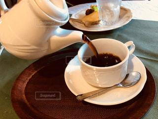 食後にコーヒーをどうぞの写真・画像素材[1700101]