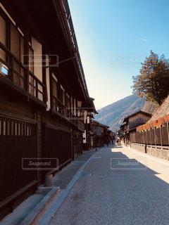 奈良井宿の空の写真・画像素材[1878719]