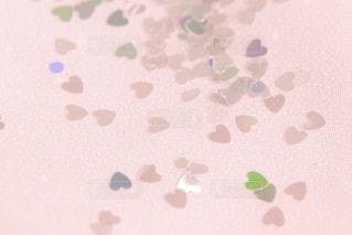 ハートのホログラムの写真・画像素材[1010017]