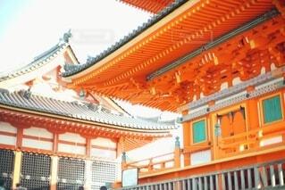 京都の清水寺の写真・画像素材[4007030]