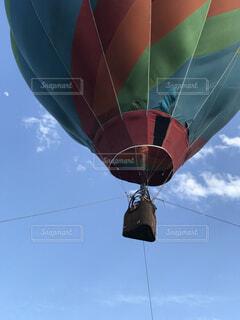 熱気球の写真・画像素材[4407373]