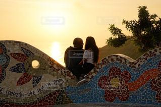 夕陽の写真・画像素材[2151941]