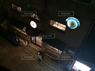 夜の灯りの写真・画像素材[1022754]